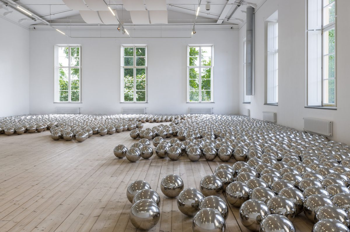 Exposición Yayoi Kusama I oändligheten11.6 – 11.9 2016 en ArkDes Estocolmo <br> © Yayoi Kusama Courtesy of Ota Fine Arts, Tokyo/Singapore, Victoria Miro Gallery, London, David Zwirner, New York