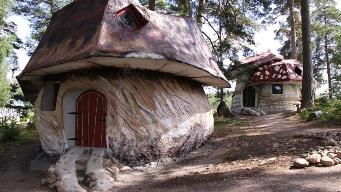 La habitacion de la seta calabaza - Foto: Götakanal.se