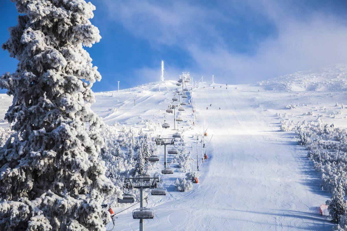 Estación de esquí en Lofsdalen, Härjedalen, Suecia <br> Foto: Martin Olson