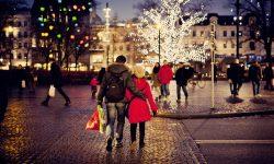 Navidad en la plaza Gustav Adolf en Malmö Foto: Werner Nystrand