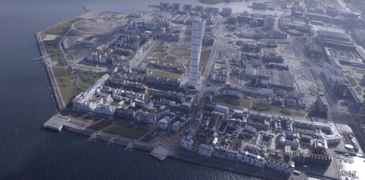 El barrio sostenible de Västra Hamnen en Malmo