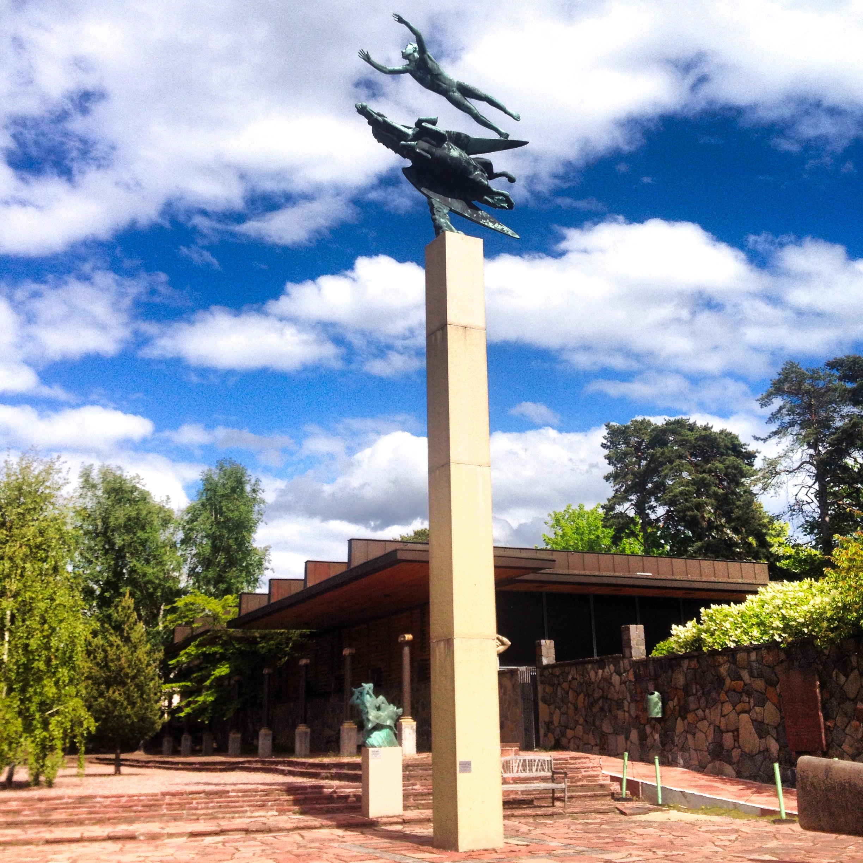 Millesgården, el parque de esculturas en Estocolmo <br> Foto: Israel Úbeda / sweetsweden.com