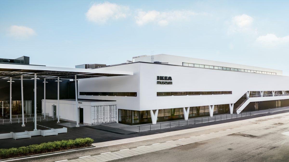Exterior del Museo IKEA en Älmhult, Suecia <br> Foto: © Inter IKEA Systems B.V. 2016