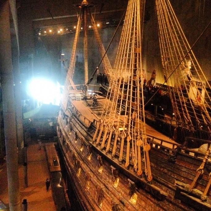 Interior del Museo Vasa en Estocolmo <br>Foto: Israel Úbeda/sweetsweden.com