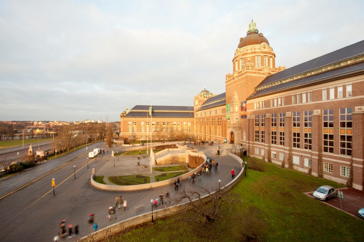 El Museo de Historia Natural de Estocolmo <br> Foto: Staffan Waerndt / NRM