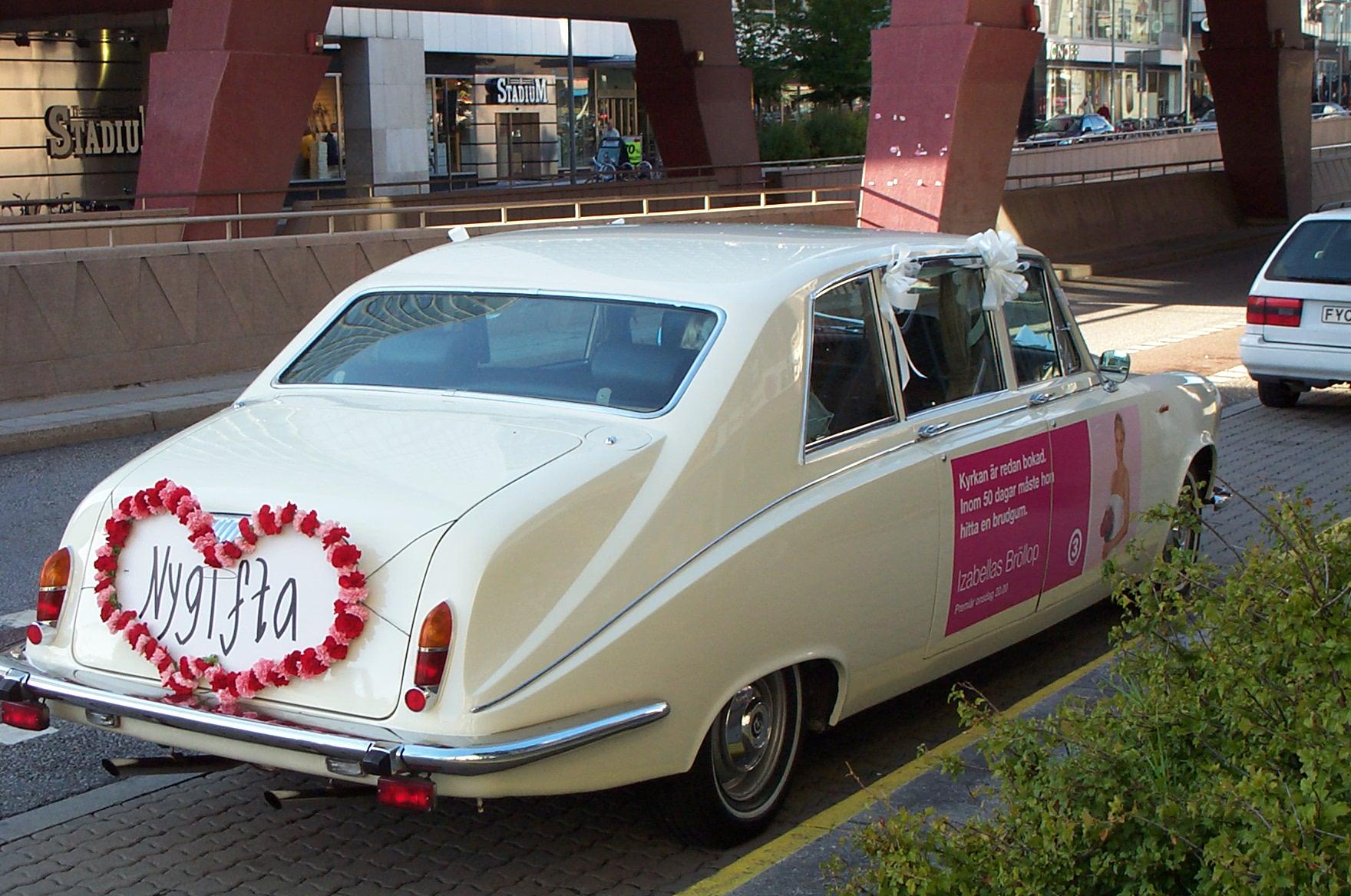 Nygifta, recién casados en sueco, foto: Israel Úbeda/sweetsweden.com