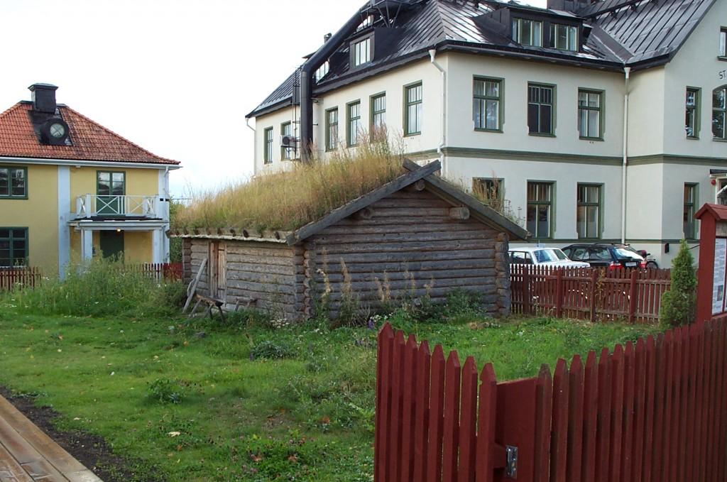 Casa antigua en Sigtuna Foto: Israel Úbeda / sweetsweden.com