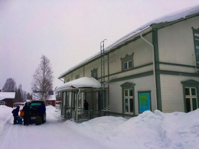 Partiendo de Lantliv Lodge - Foto: Israel Úbeda / sweetsweden.com