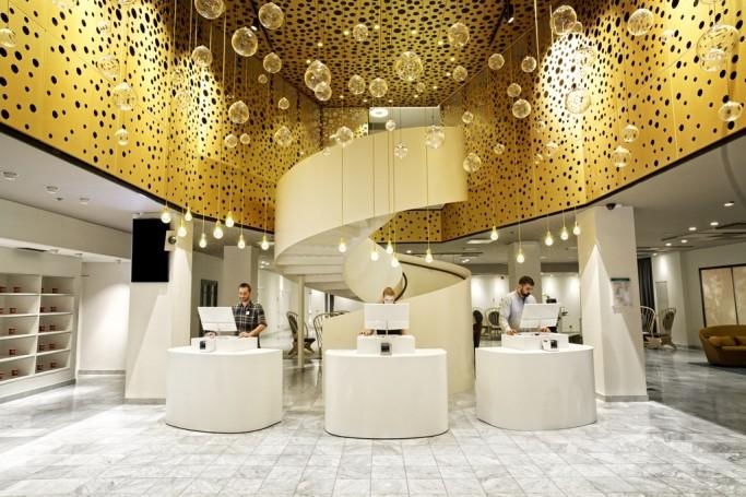 Reception del Nordic C Hotel - Foto: Olav Stubberud
