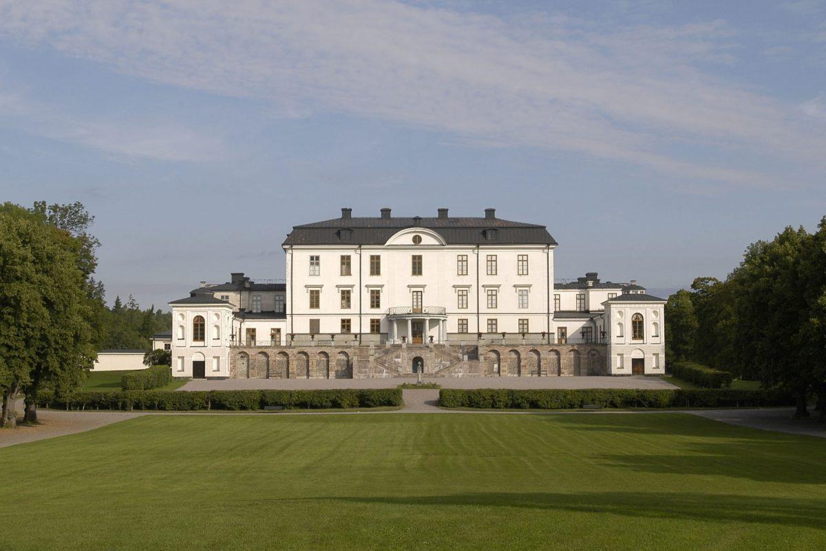 El Palacio de Rosersberg en las cercanías de Estocolmo <br /> Foto: Alexis Daflos