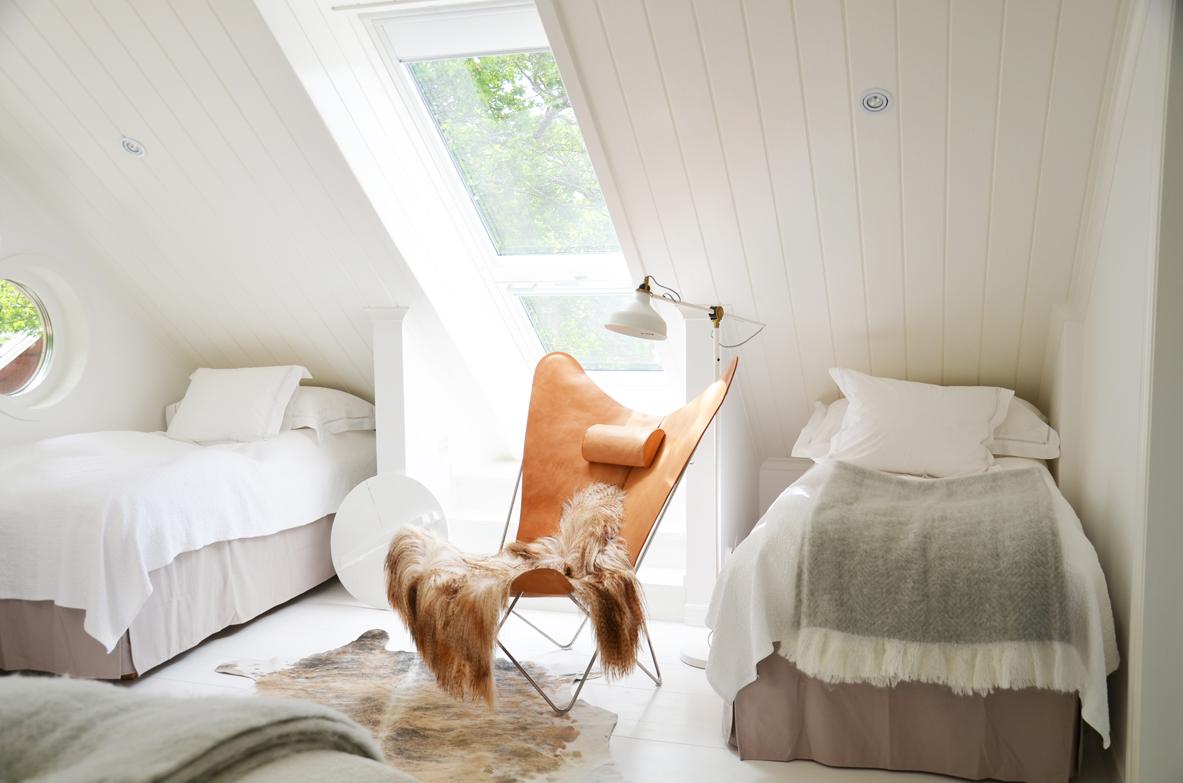 Habitación familiar en la granja Siggesta Gård en Värmdö, Estocolmo <br> Foto: © Lina Eidenberg Adamo