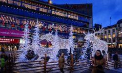 Luces de Navidad en Estocolmo en Sergels Torg foto: stockholmsjul.se