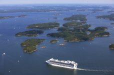 Crucero de camino al puerto de Estocolmo Foto: Per-Erik Adamsson / mediabank.visitstockholm.com