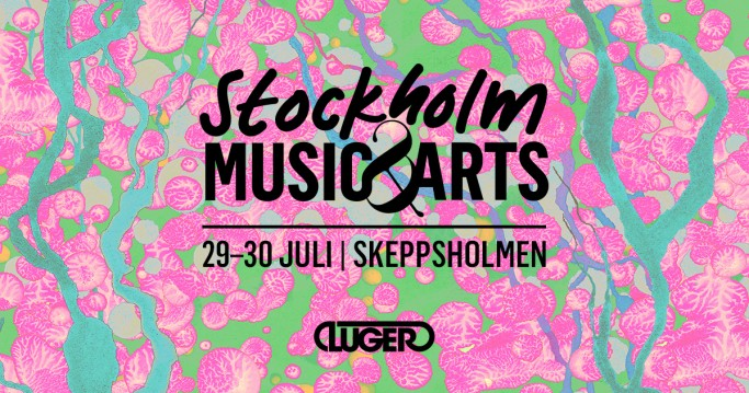 Cartel del Festival Stockholm Music and Arts 2016