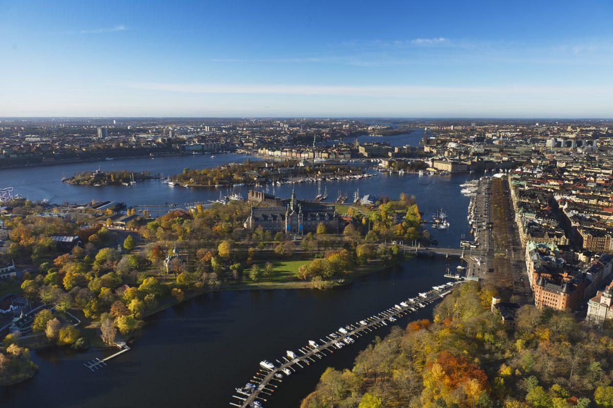 Estocolmo en otoño <br> Foto: Jeppe Wikström / mediabank.visitstockholm.com