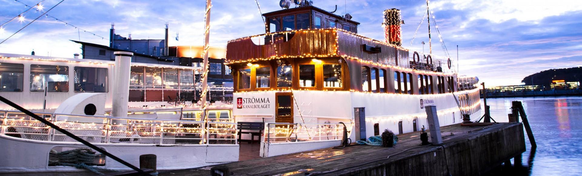 Cruceros de Navidad por el archipiélago de Gotemburgo