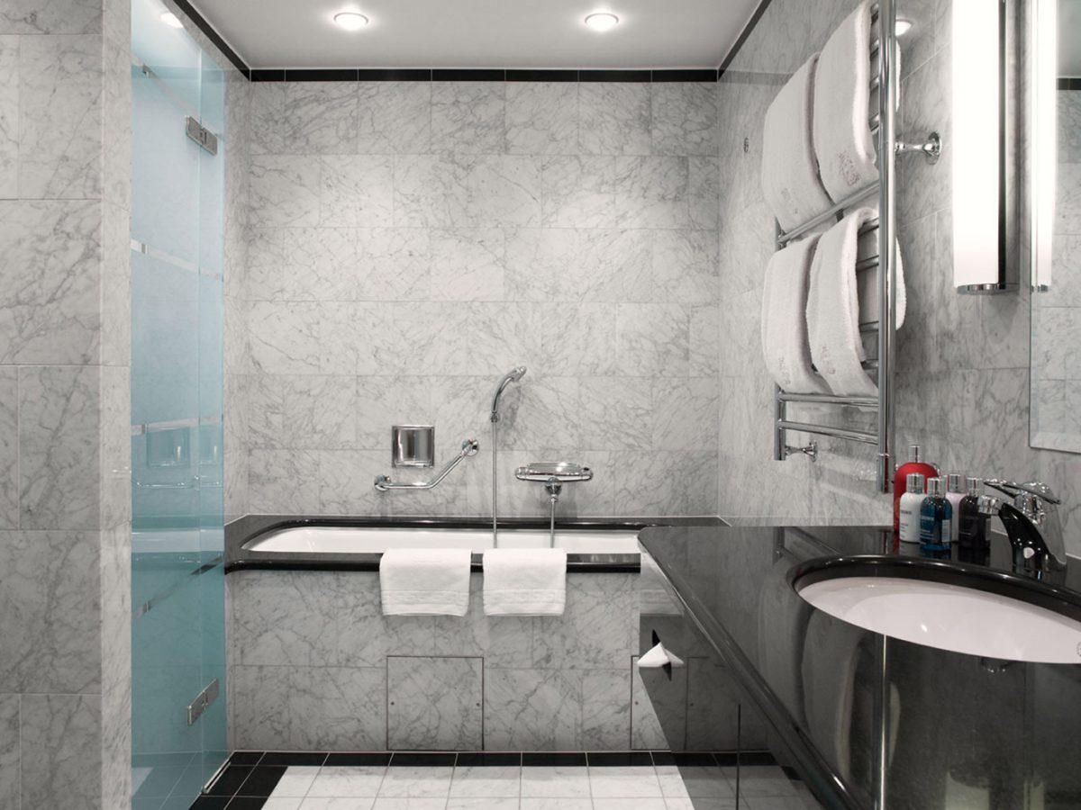 Lavabo de la suite Superior del Grand Hotel <br> Foto: grandhotel.se