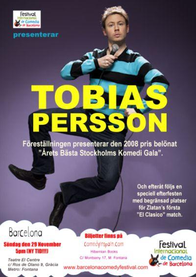 Tobias Persson en Barcelona