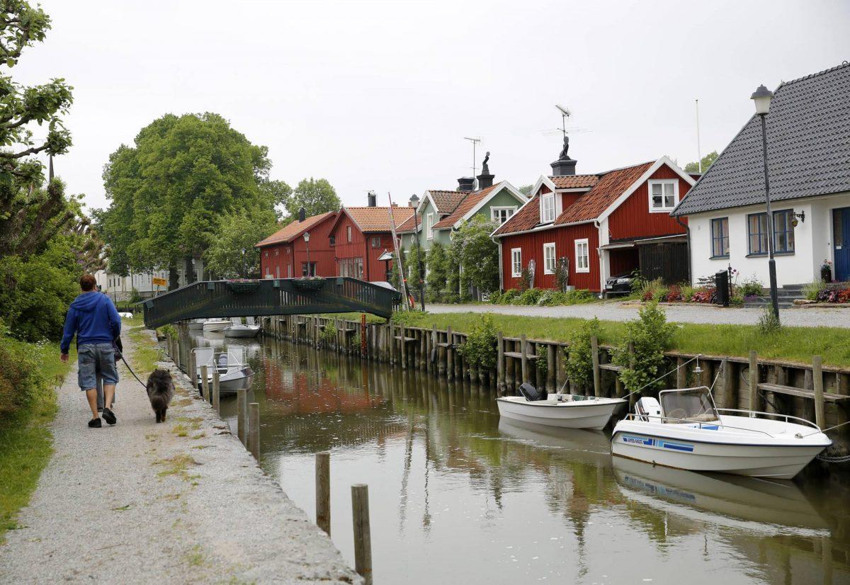 Trosa un encantador pueblecito cerca de Estocolmo <br> Foto: visittrosa.com