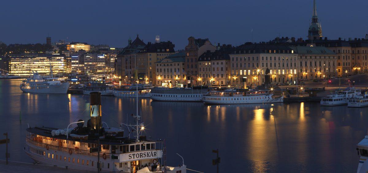 Vistas de lujo desde el hotel Lydmar en Estocolmo