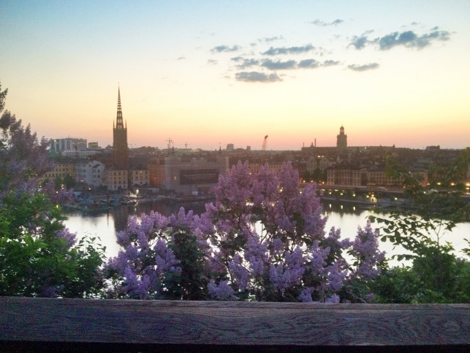 Vista de Estocolmo a la salida de sol <br>Foto: Israel Úbeda / sweetsweden.com