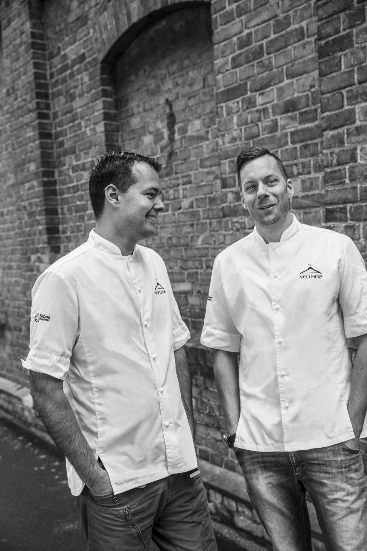 Mats y Ebbe Vollmer los chef 2* Michelin de Malmö<br> Foto: Sofia Håkansson