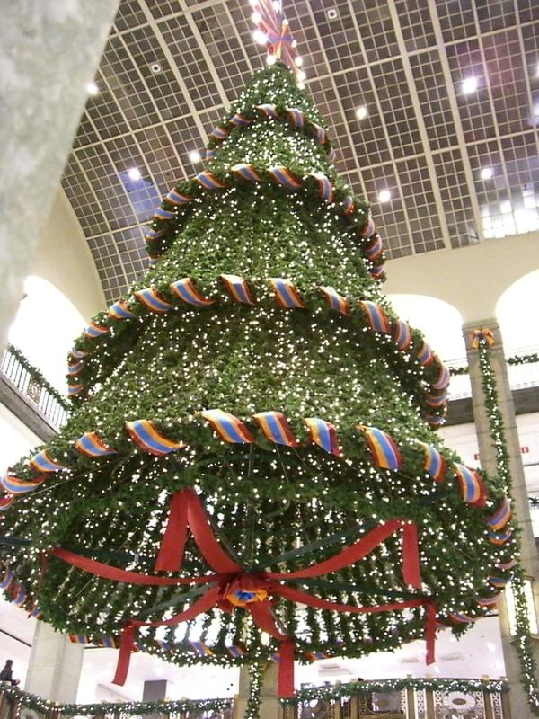 Árbol de Navidad de NK de 2007 <br> Foto: Israel Úbeda / sweetsweden.com