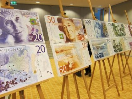 Nuevo diseño para los billetes suecos, Malin Billing, Saltkråkan AB