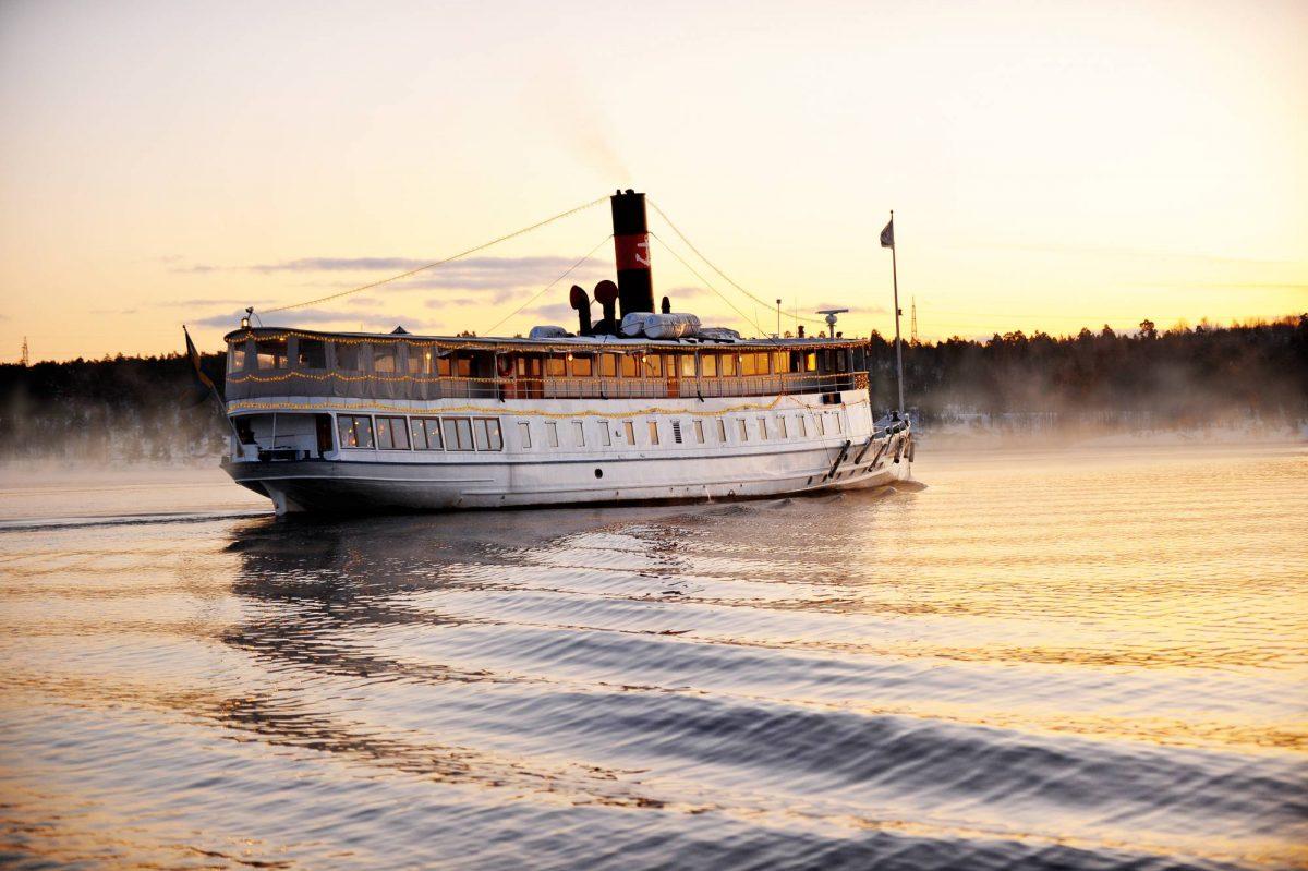 Crucero por Estocolmo al atardecer <br> Foto: Magnus Rietz