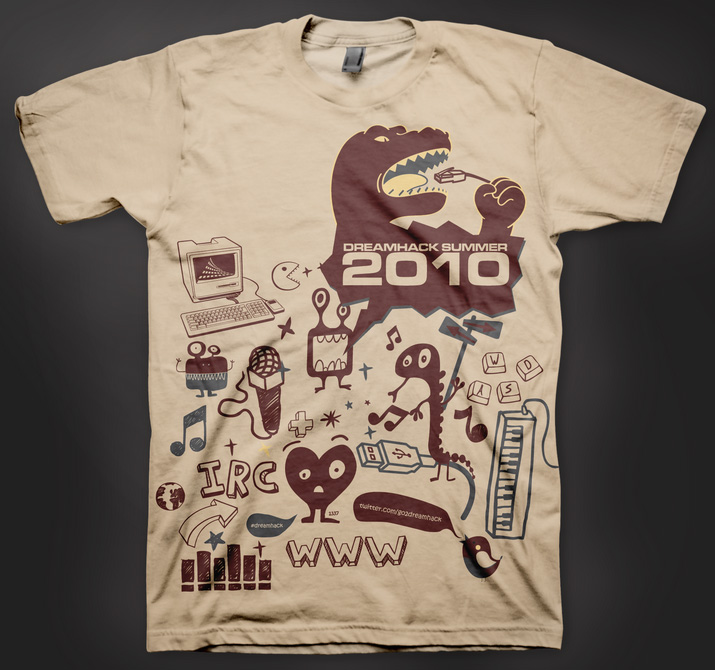 Camiseta Pre DreamHack