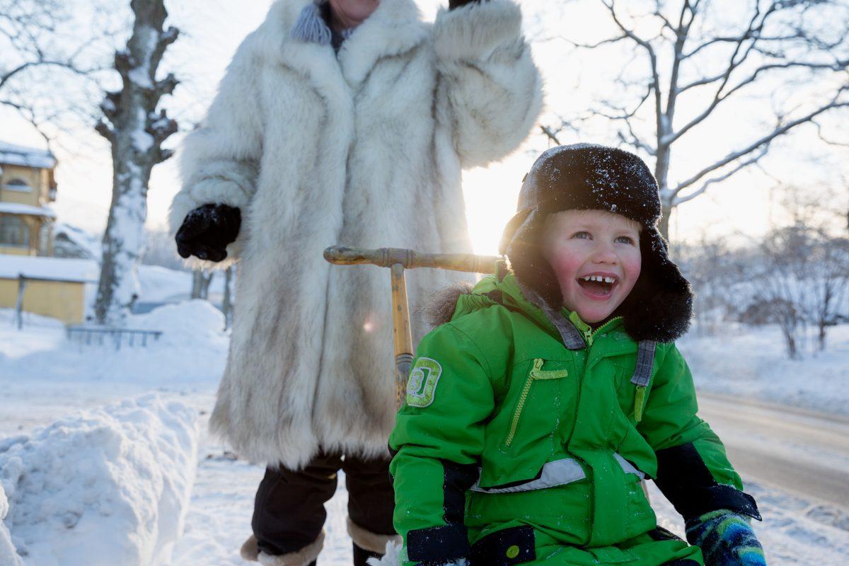 Para los suecos no existe el mal tiempo - Foto: Carolina Romare / imagebank.sweden.se