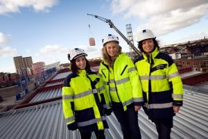 Igualdad de género en el trabajo Foto: Cecilia Larsson Lantz / imagebank.sweden.se