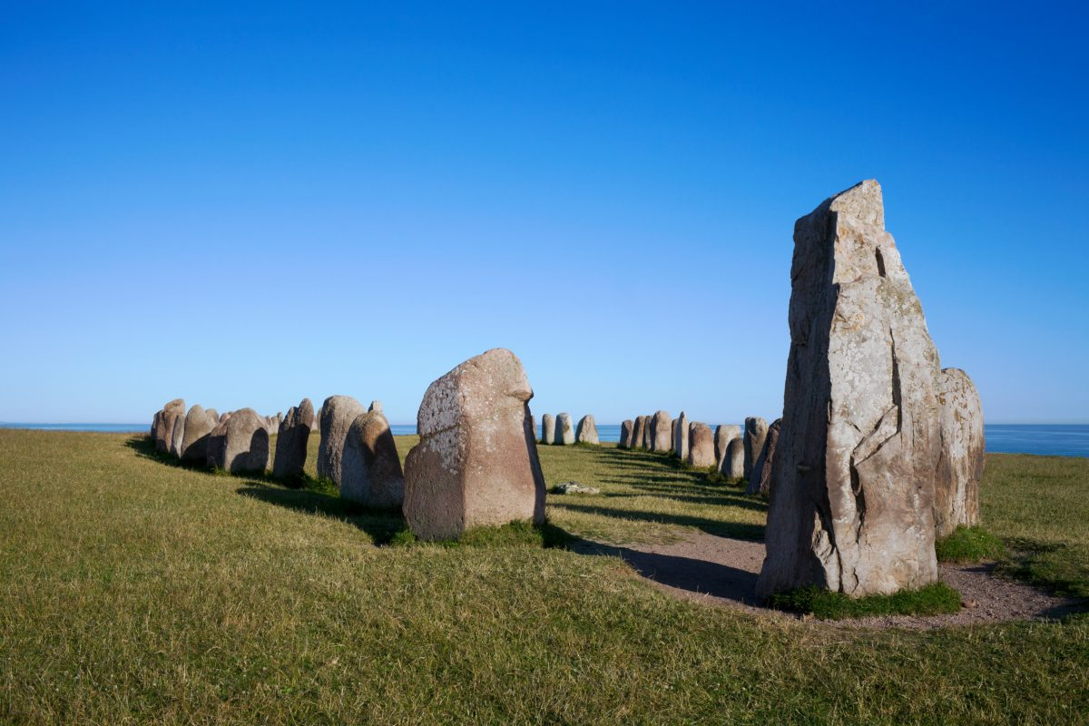 Ales Stones in southern Sweden <br /> Photo: Conny Fridh / imagebank.sweden.se
