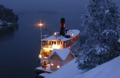 Crucero de Navidad por Estocolmo con desgustación de bufé julbord Foto: Magnus Rietz