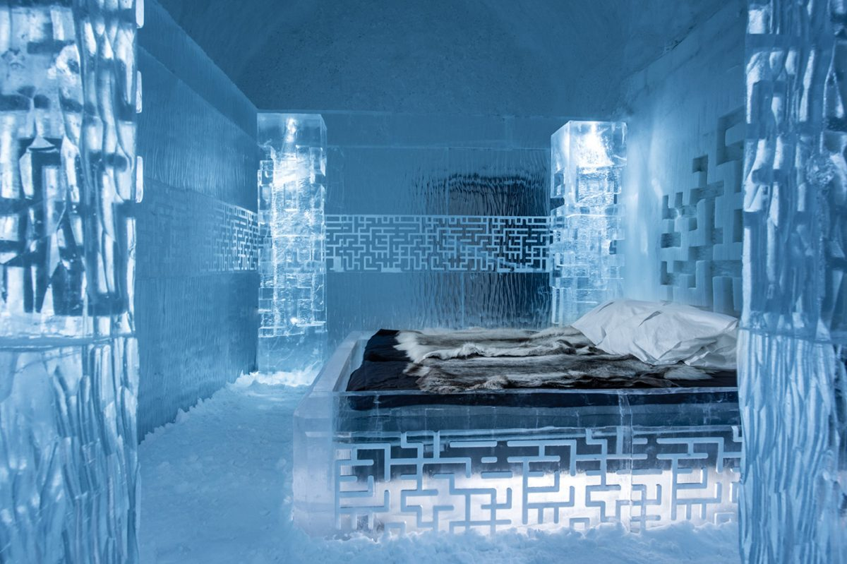 Don't Get Lost - Suite deluxe at ICEHOTEL 365 in Swedish Lapland <br /> Photo: Asaf Kliger