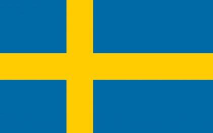 Bandera de Suecia imagebank.sweden.se