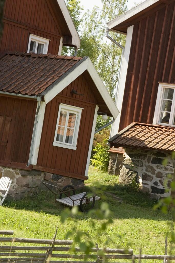 Casas en Småland <br> Foto: smalandsbilder.se