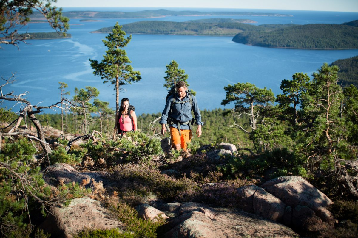 Sweden's High Coast is a Unesco World Heritage Site <br /> Photo: Friluftsbyn Höga Kusten/imagebank.sweden.se