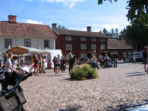Gamla Linköping, foto: liu.se