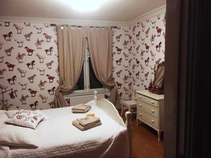 Habitación en Lantliv Lodge - Foto: Israel Úbeda / sweetsweden.com