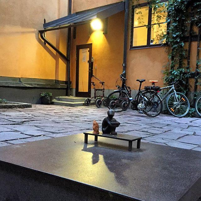 Järnpojken la estatua más pequeña de Estocolmo - Foto: Israel Úbeda / imagebank.sweden.se