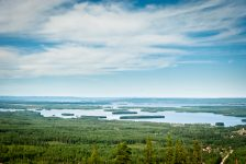 Lago Siljan en Dalarna, Suecia Foto: Jacques de Villiers / imagebank.sweden.se