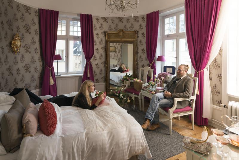 Habitación del Hotel Kung Carl <br> Foto: Jan Malmstrom