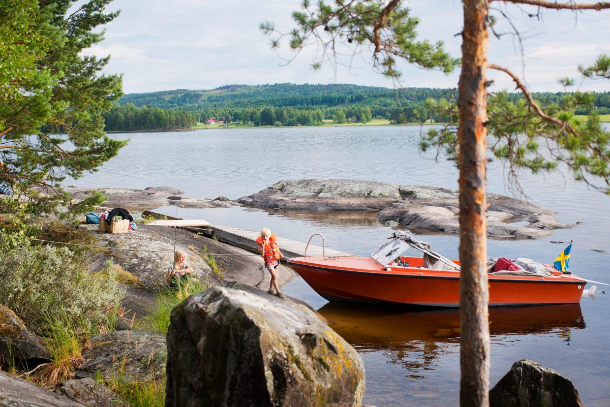 Dalarna, la más sueca de las regiones <br> Foto: Johan Willner / imagebank.sweden.se