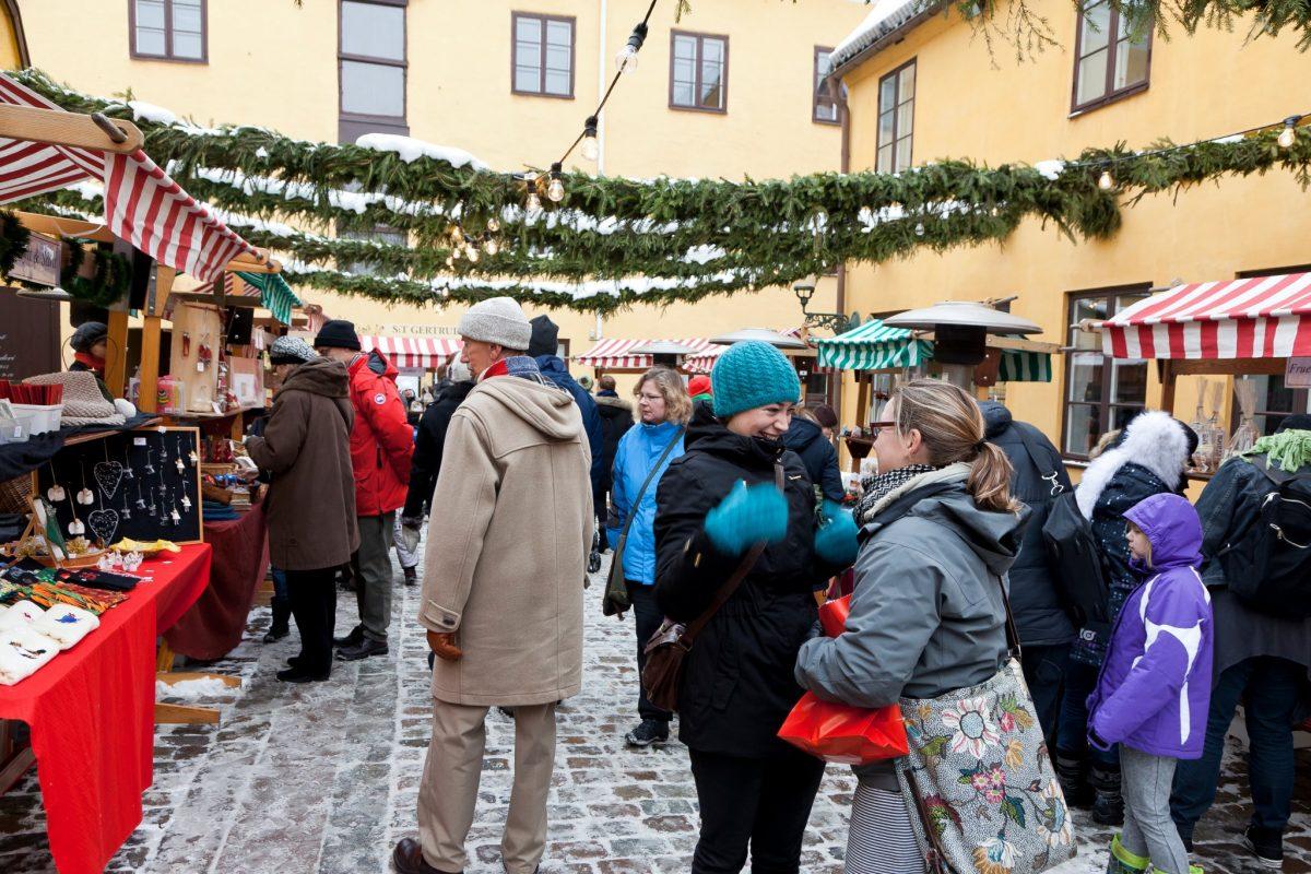 Mercado de Navidad de Santa Gertrud en Malmö <br> Foto: Julmarknad i Sankt Gertrud / facebook