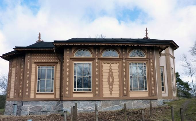 Capilla de Överjärva gård en Solna, Estocolmo; foto: Länsstyrelsen