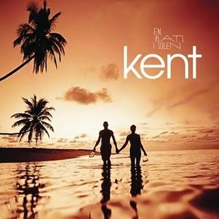 Carátula del disco de Kent - En plats i solen