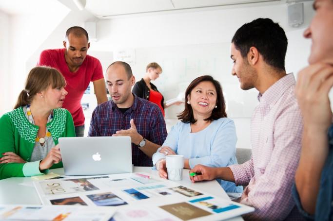 Entorno de trabajo en empresas suecas - foto: Lena Granefelt / imagebank.sweden.se