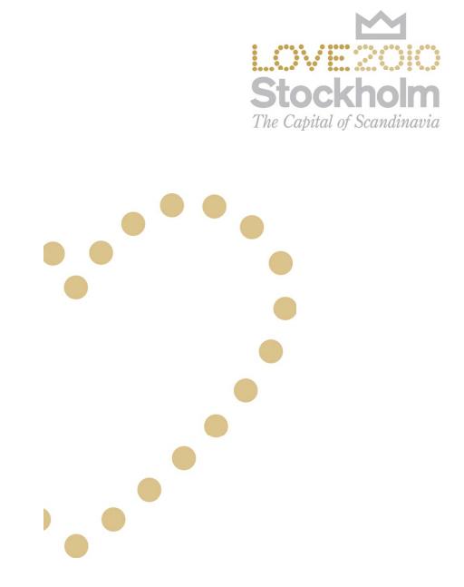 Logotipo de LOVE Stockholm 2010