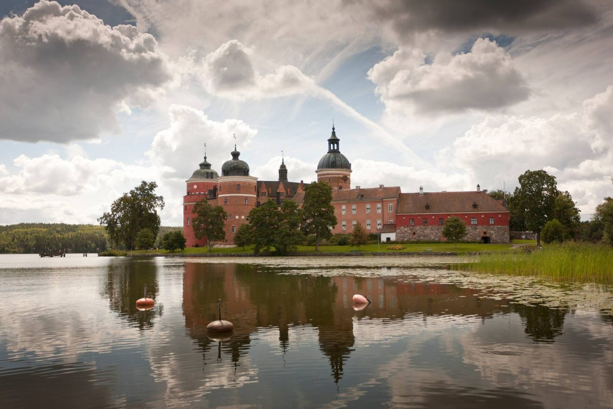 Castillo de Gripsholm <br> Foto: Mattias Leppäniemi / imagebank.sweden.se